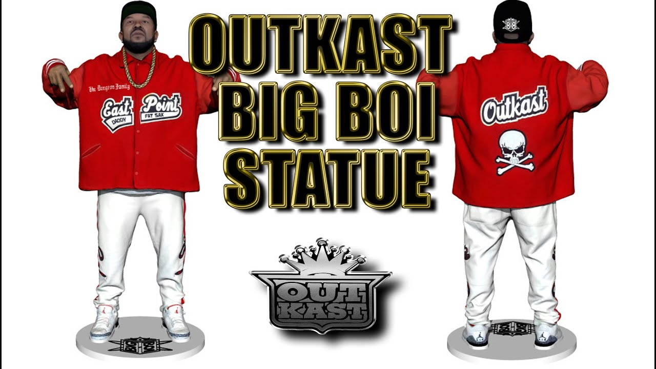 Outkast Big Boi 3D Printed Statue - No Hype Ep 97