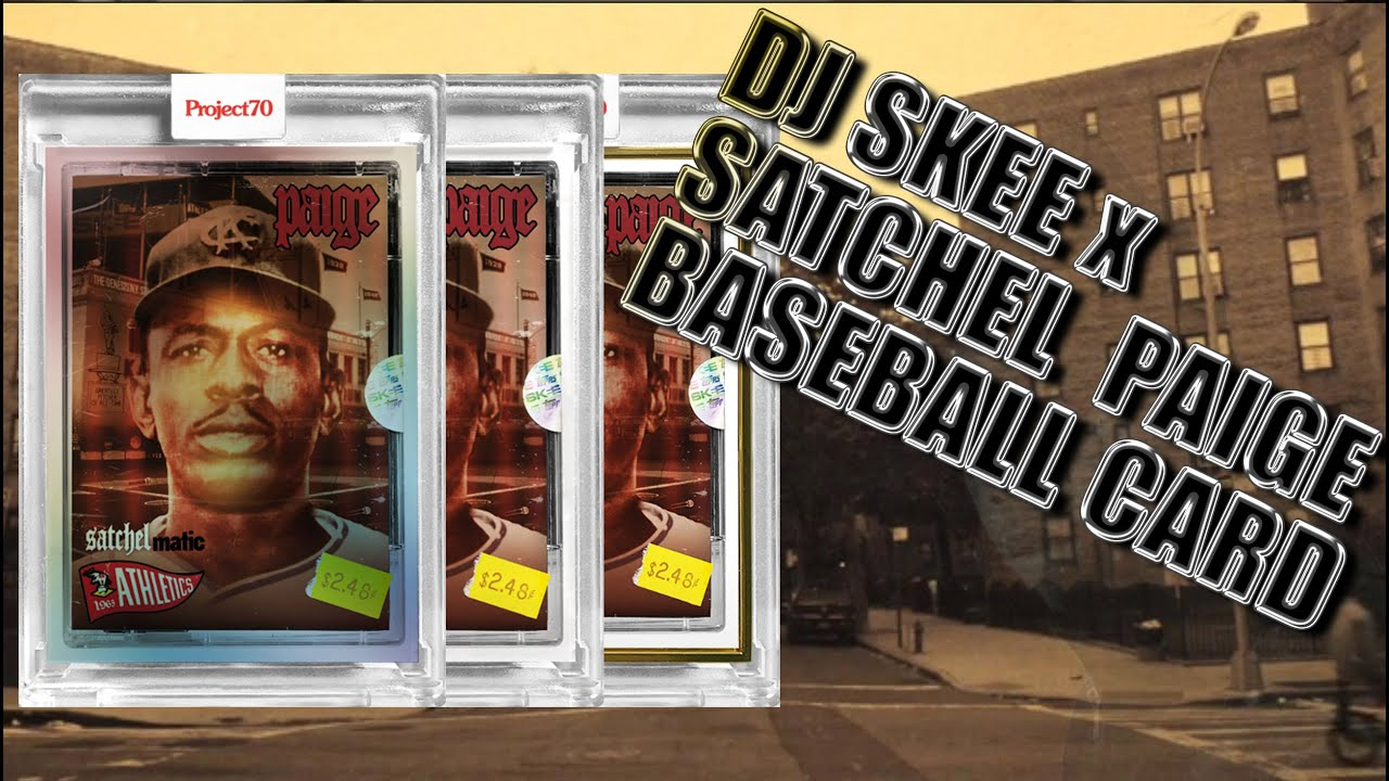 Topps Project 70 Satchel Paige X Dj Skee &Quot;Satchelmatic&Quot; Card - No Hype Ep 101