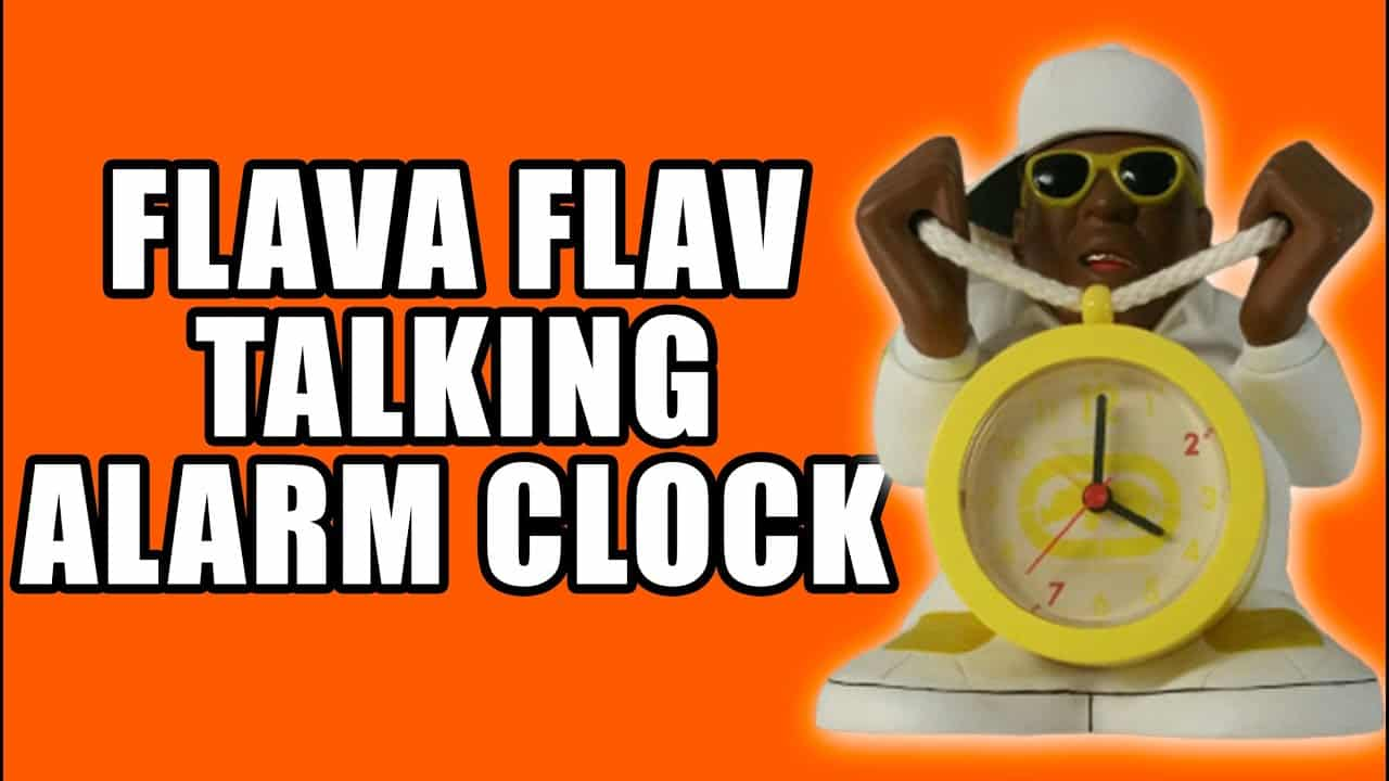 Ecko Legends Flava Flav Talking Alarm Clock - No Hype Ep 114
