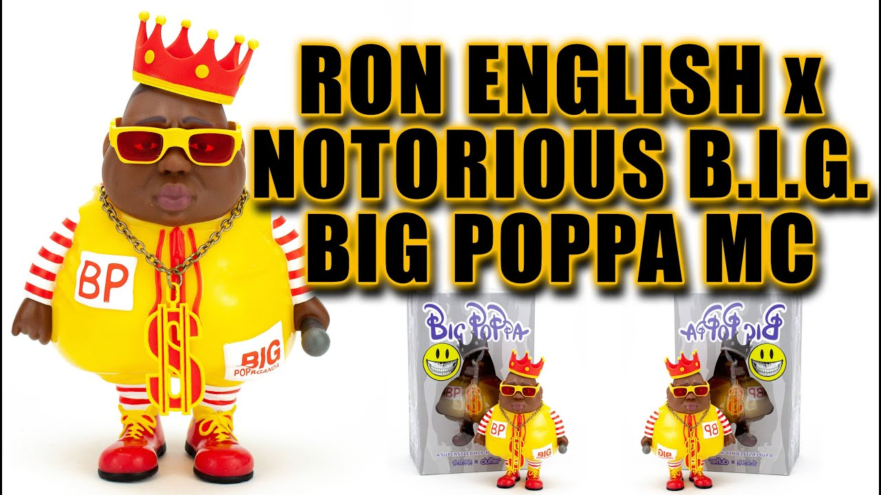 Big Poppa Mc By Ron English X Clutter Studios Miami Popmart   - - No Hype Ep137